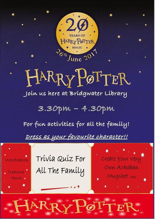 Harry Potter 20th Anniversary Celebration!