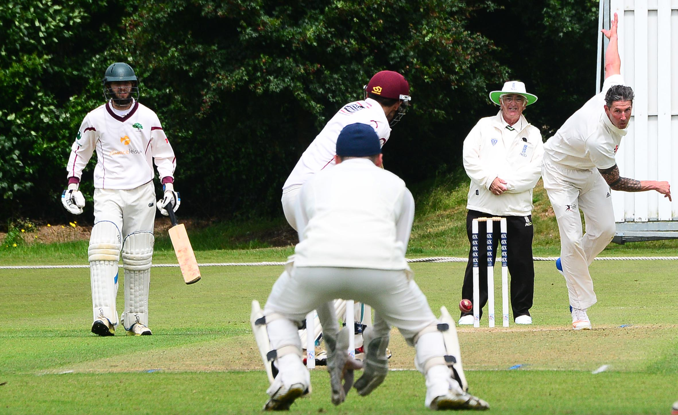 SHOWDOWN: Taunton meet Taunton St Andrew's in the Baker Cup semi-finals. Pic: Steve Richardson