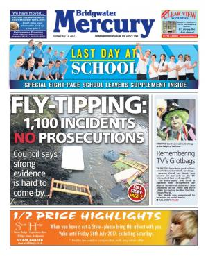 Bridgwater Mercury: FLY-TIPPING: 1,100 incidents across Sedgemoor