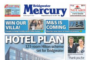 HOTEL PLAN: 123 room Hilton scheme set for Bridgwater