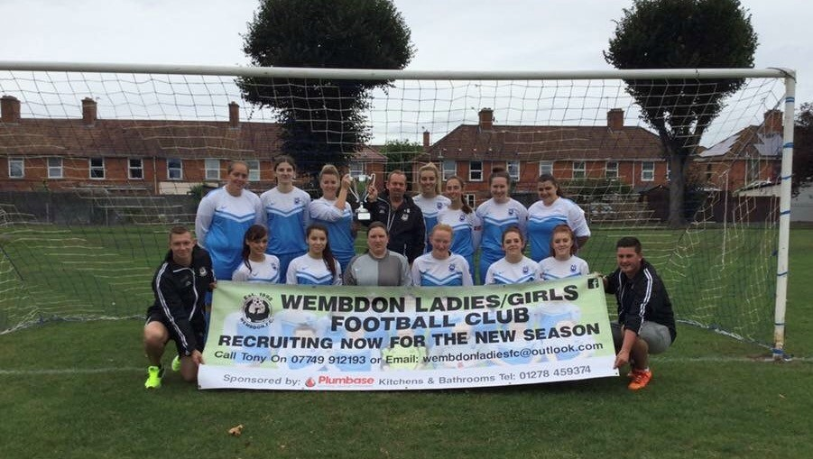 AWAY WIN: Wembdon Ladies defeated Berrow Ladies on Sunday.