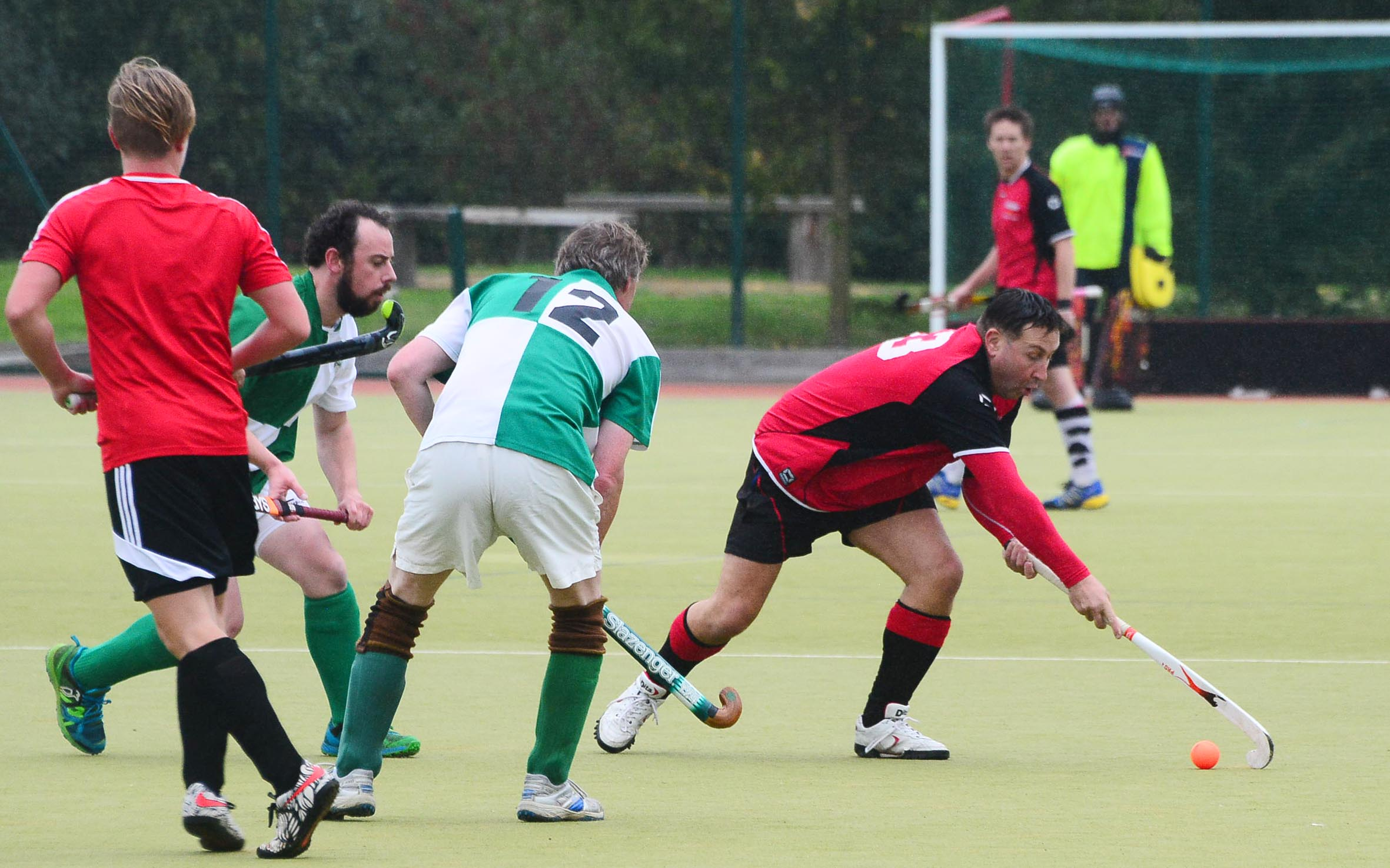 MIXED: It was an up-and-down weekend for Bridgwater's men's sides. Pic: Steve Richardson