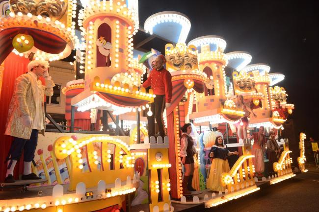 EFFORT: A lot of work goes into Bridgwater Carnival each year
