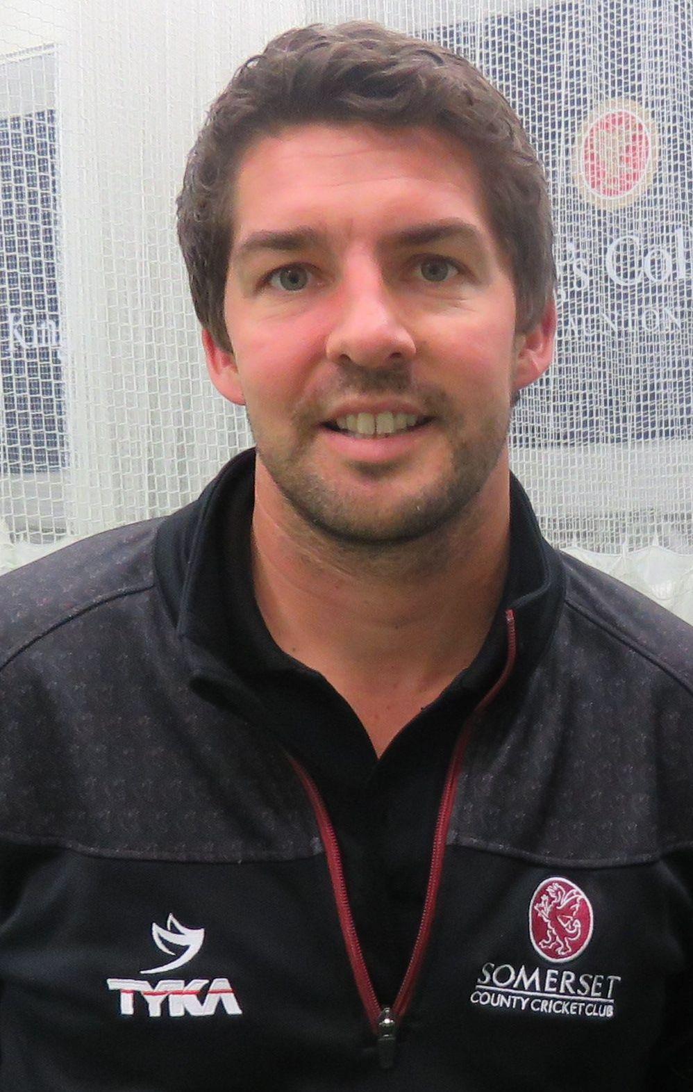 TALENT: Ben Wells will be working under Somerset 2nd XI coach and academy director Steve Snell, pictured.