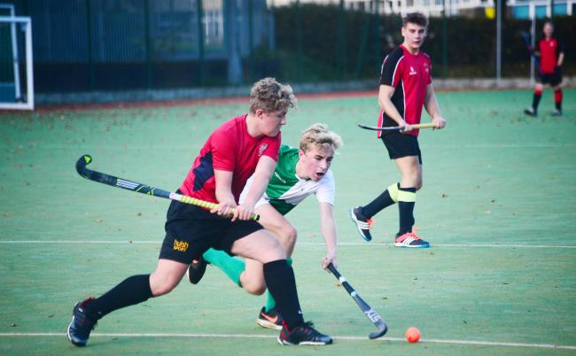 CLASH: Bridgwater men's hockey teams had another week of mixed results.