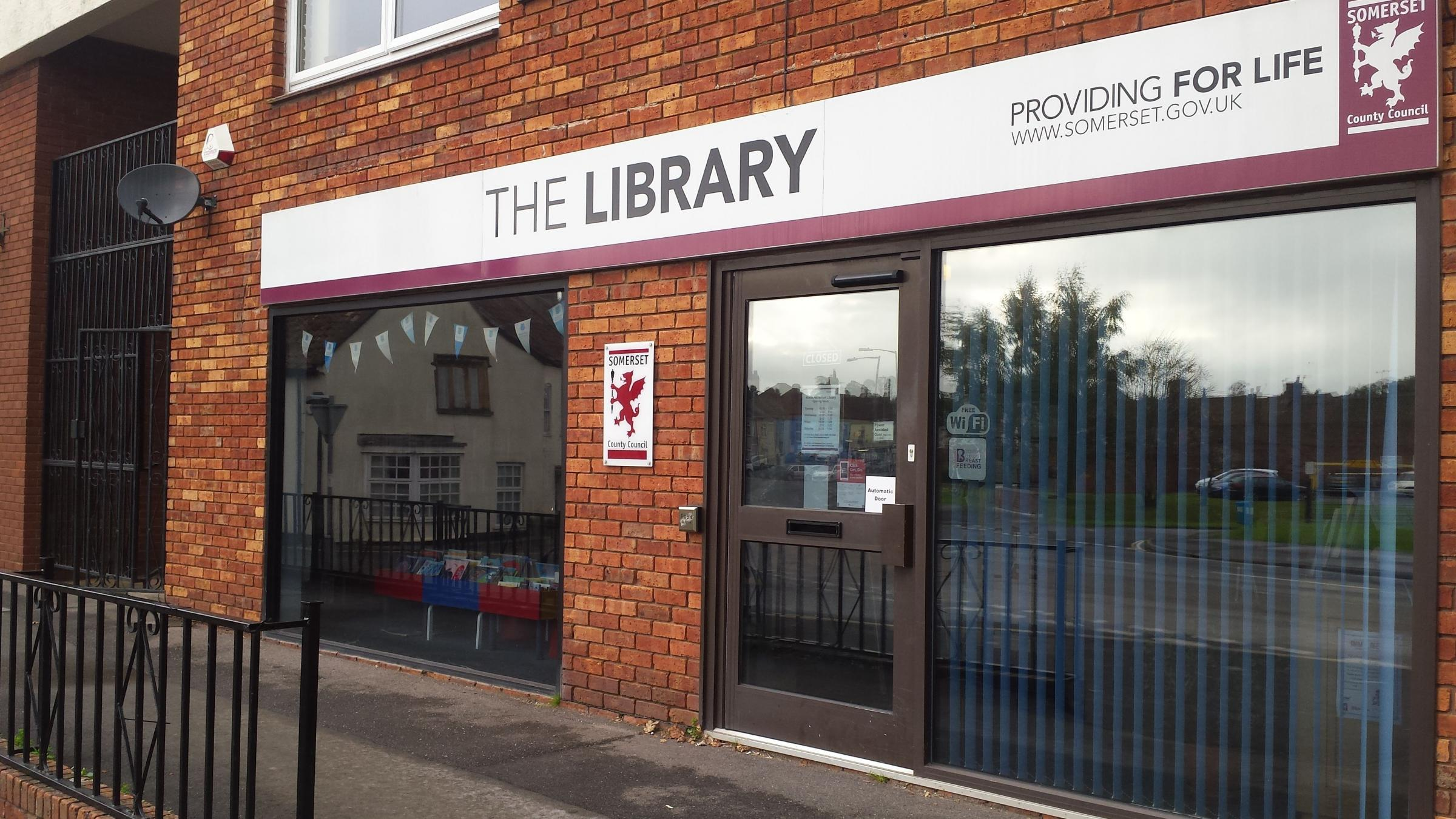 VALUED: North Petherton Library looked at risk of closure, but volunteers have come forward to support the town council and keep it open