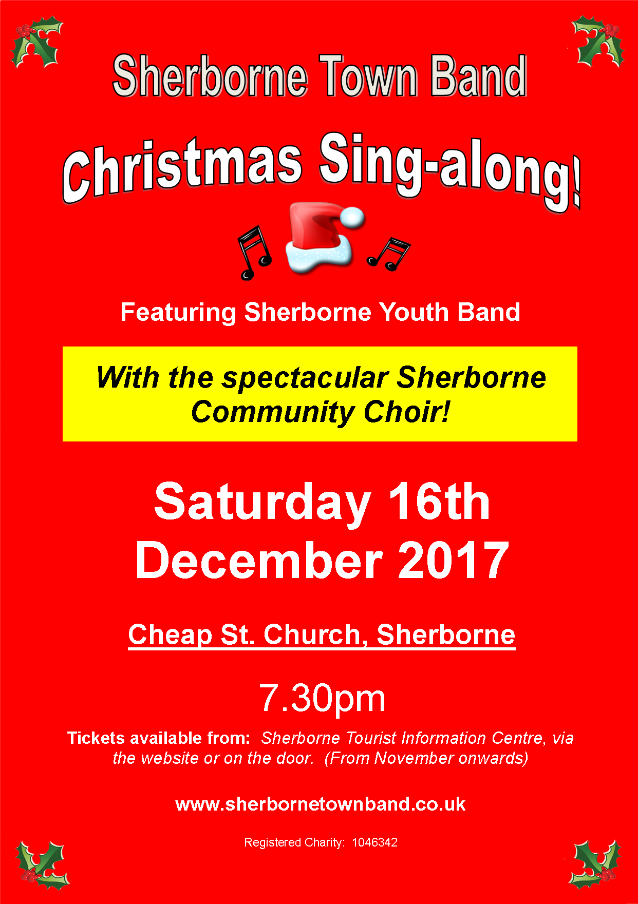 Sherborne Town Band - Christmas Sing-a-long!