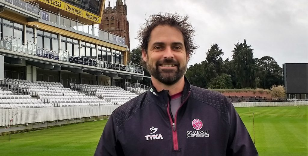 ARRIVAL: Greg Kennis, Somerset's new Second XI coach
