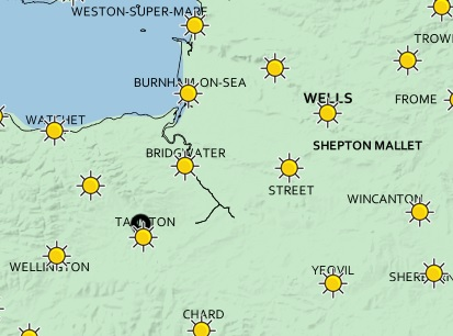 WEATHER: Clear but cold day in store for Somerset