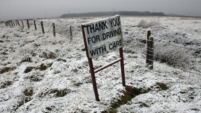BRITONS woke up to slightly warmer temperatures today with forecasters saying the current cold spell is