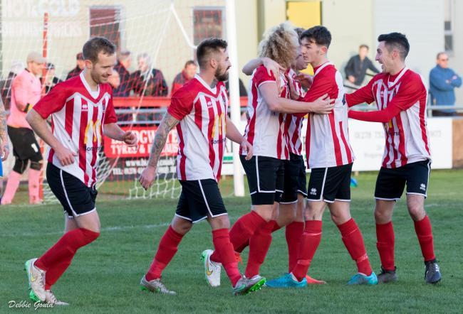 Football Bridgwater Town Take On Melksham Town In Buildbase Fa Vase