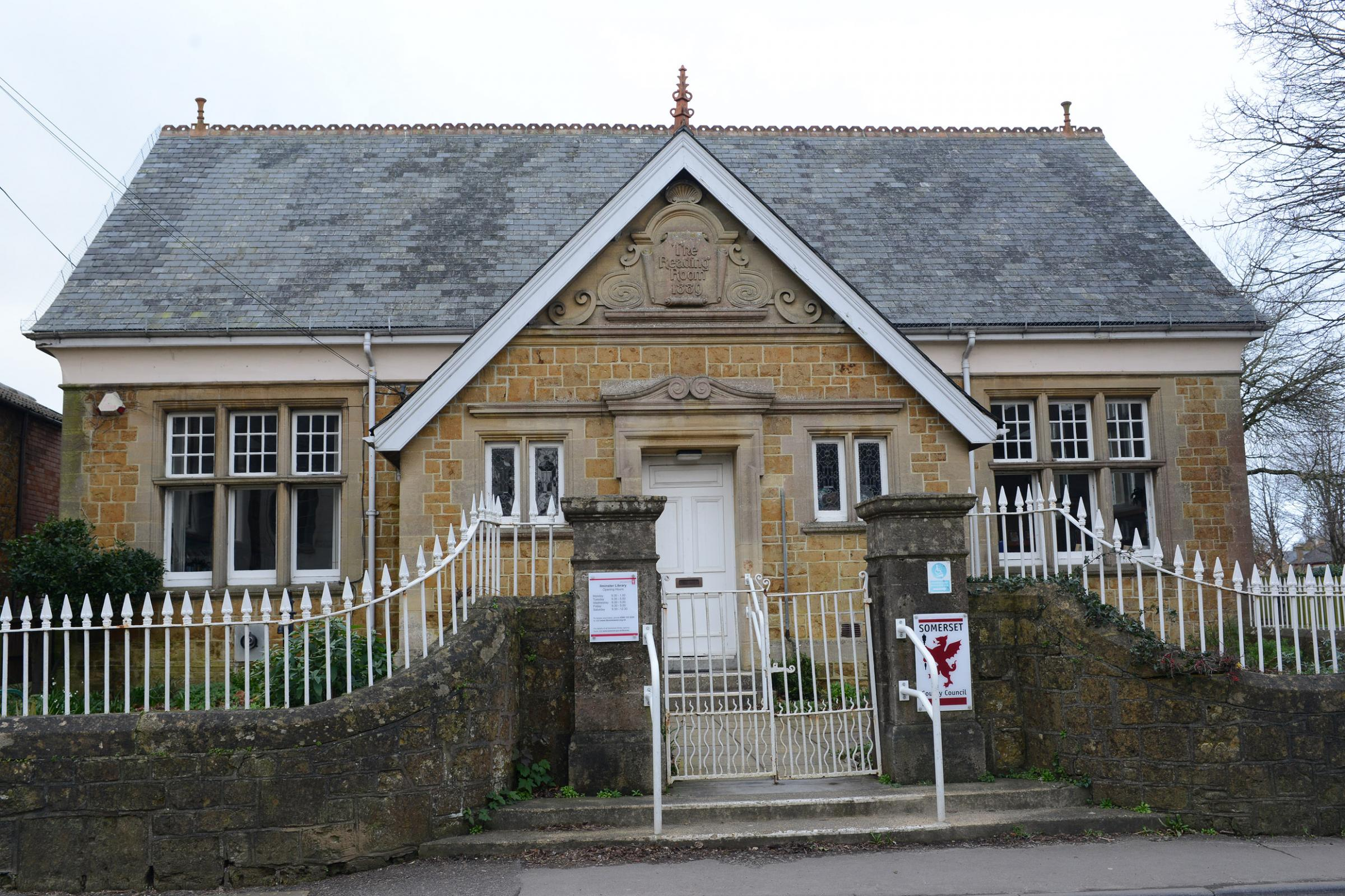 UNDER THREAT: Ilminster Library is among those which could close