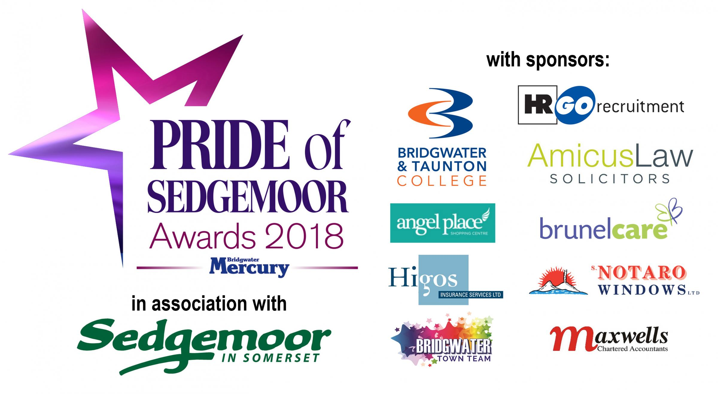 Bridgwater Mercury: Pride of Sedgemoor Awards 2018 - with the Bridgwater Mercury and Burnham and Highbridge Weekly News