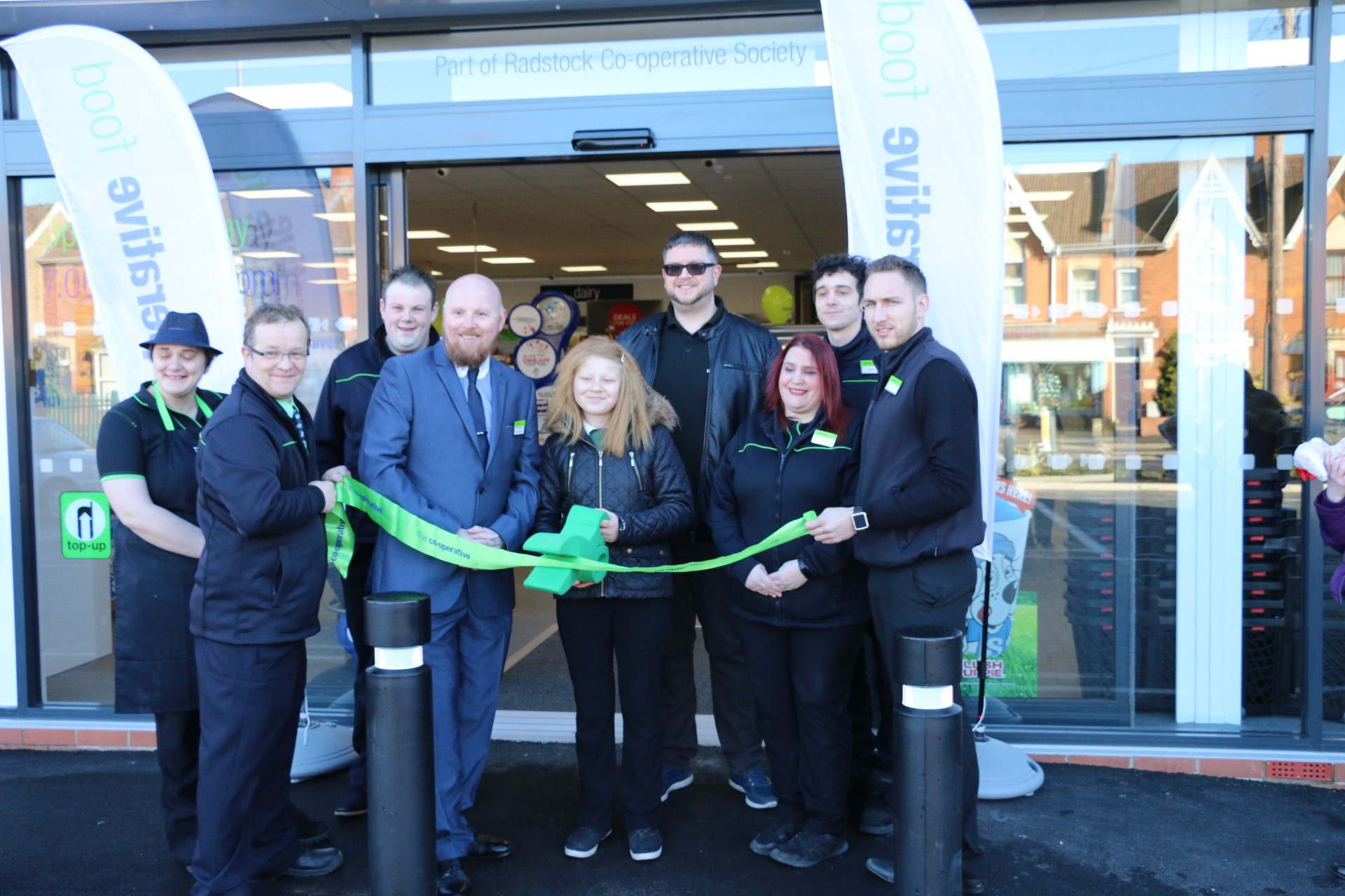 NEW STORE: The Co-op store at the former Paragon Laundry site in Bridgwater