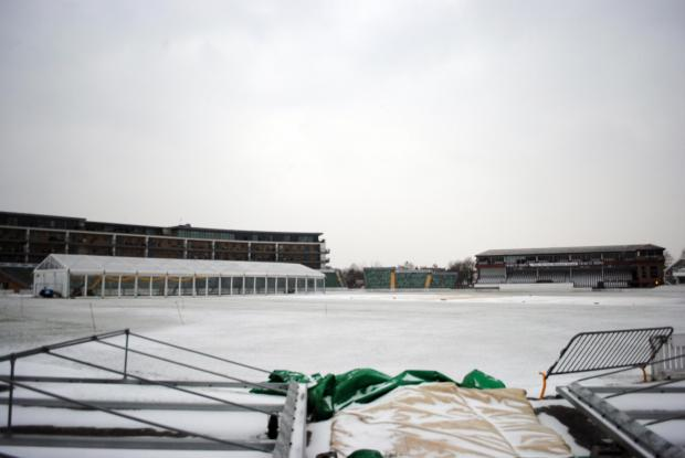 POSTPONED: The recent poor weather has caused a change to Somerset's pre-season schedule