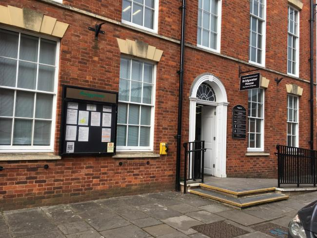 CLOSED: Sedgemoor District Council's reception at Bridgwater House, Bridgwater