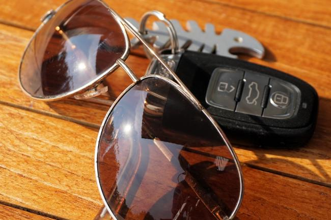FINE: Motorists could be fined £2,500 for driving without sunglasses