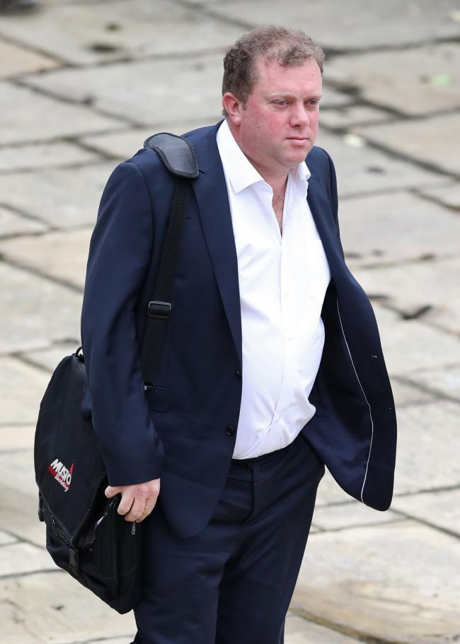 NOT GUILTY: Douglas Innes, acquitted of manslaughter