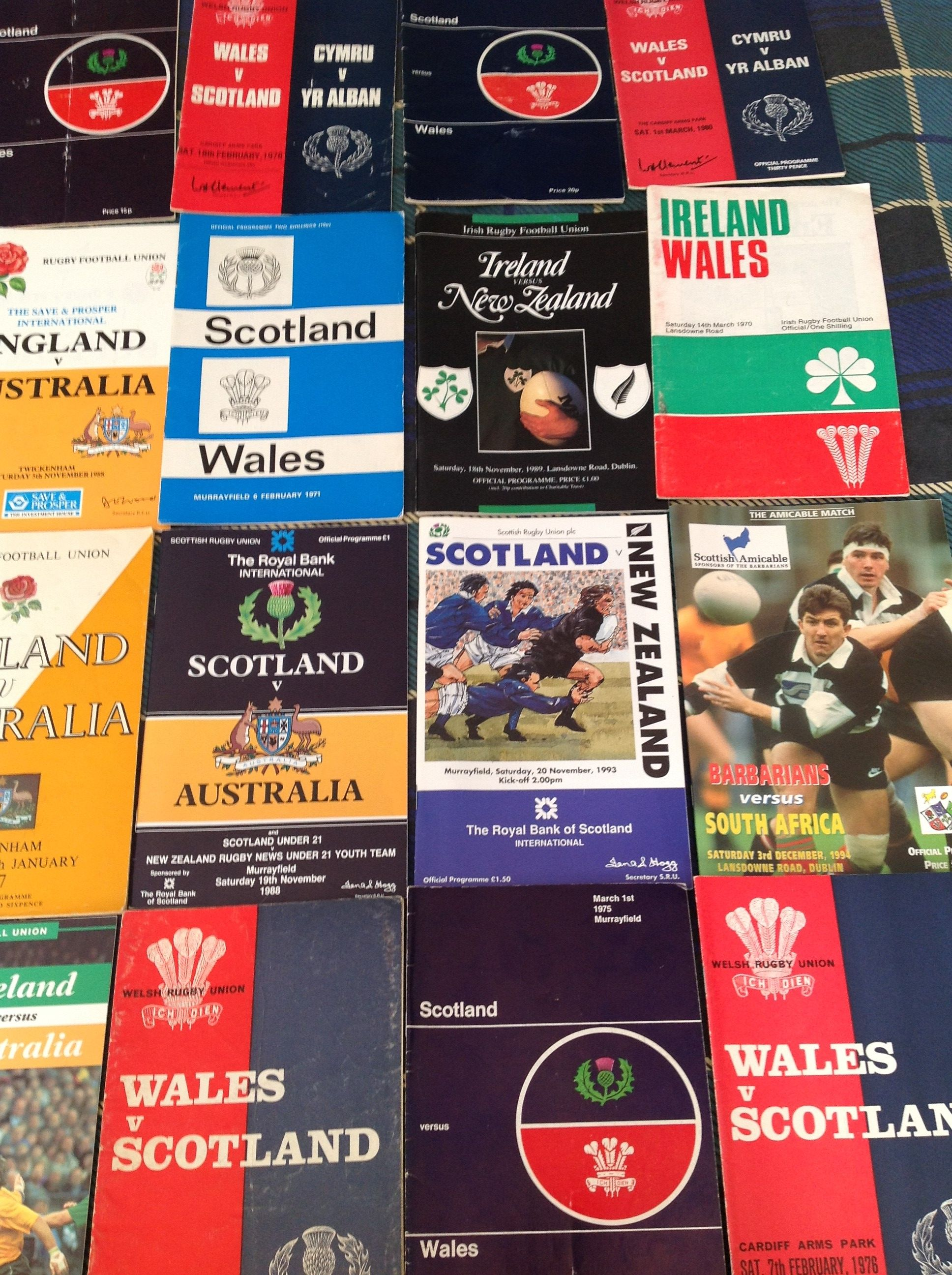 Lozza's Loot: Collecting match programmes