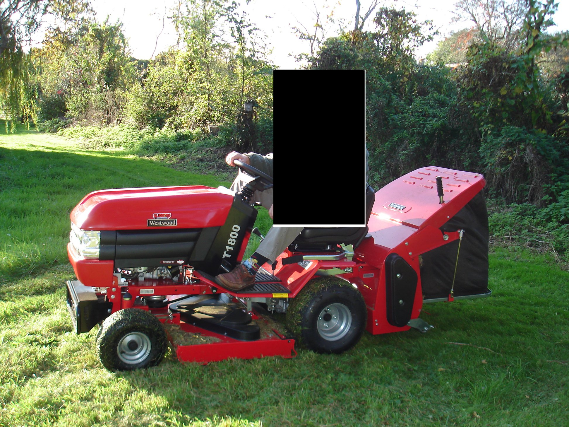 STOLEN: The Westwood ride-on motor went missing from Shurton