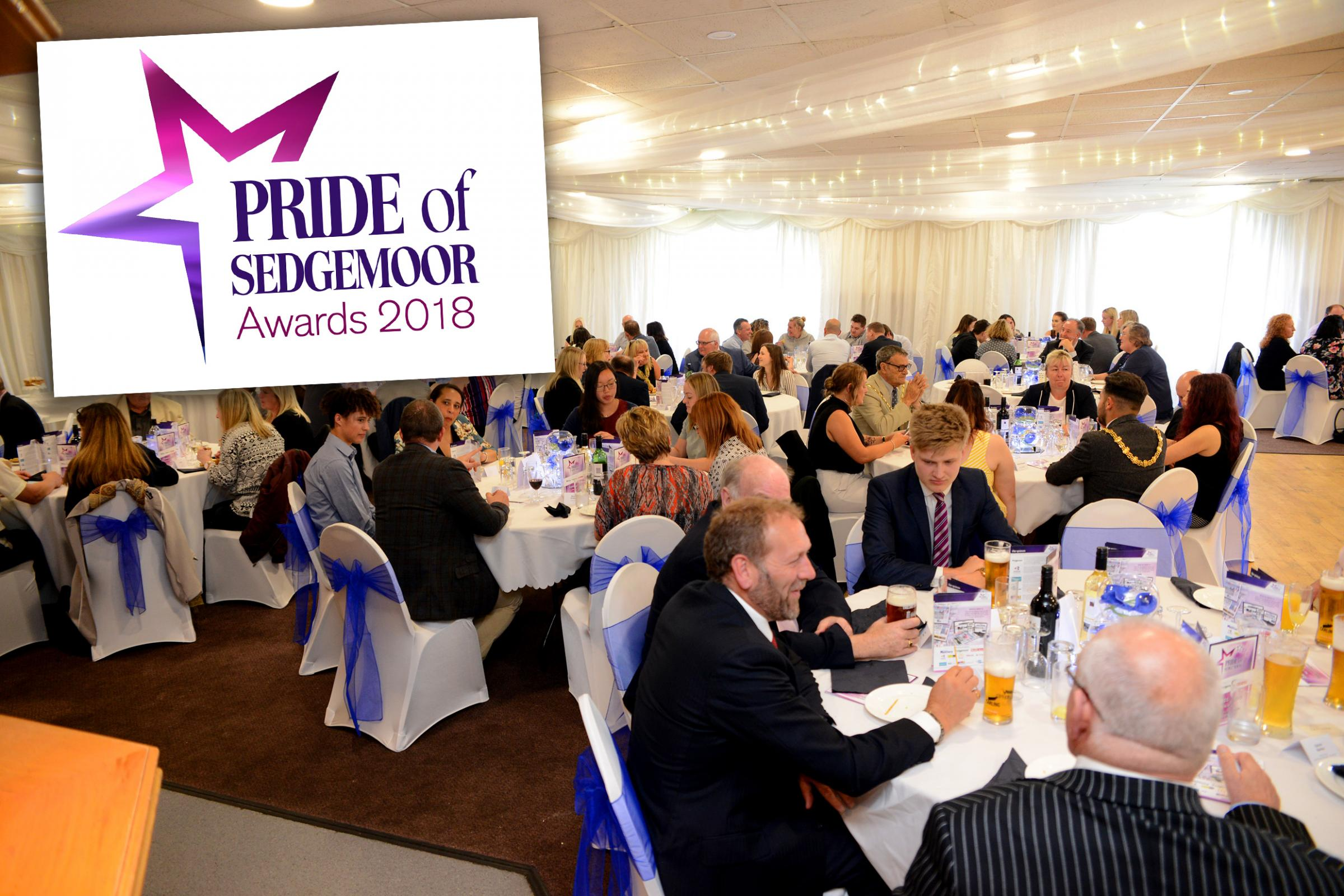 CELEBRATION: The Pride of Sedgemoor Awards took place on Wednesday, May 16