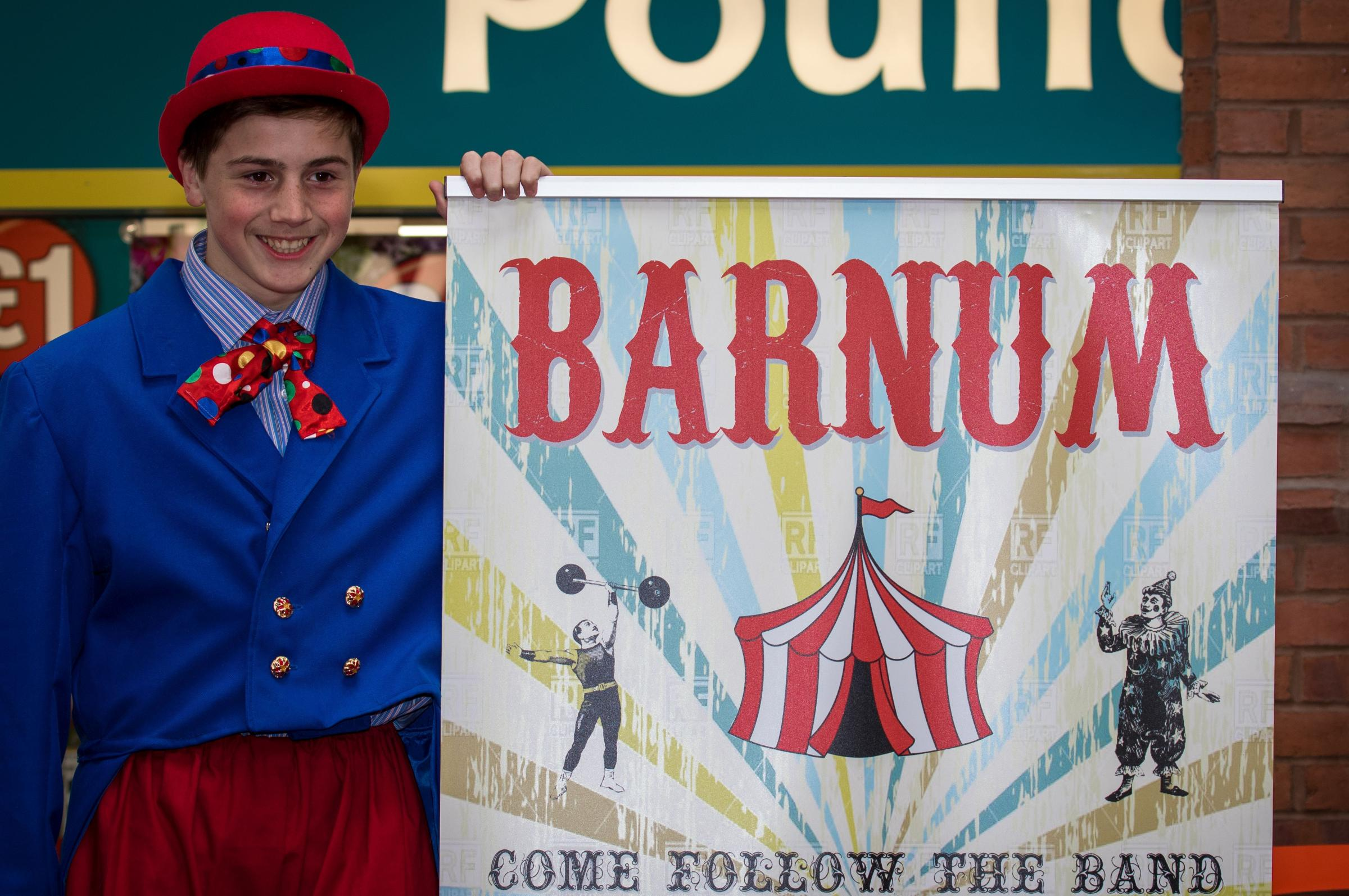 CIRCUS: Barnum is playing in the Town Hall this week (Picture by J&L Photography)