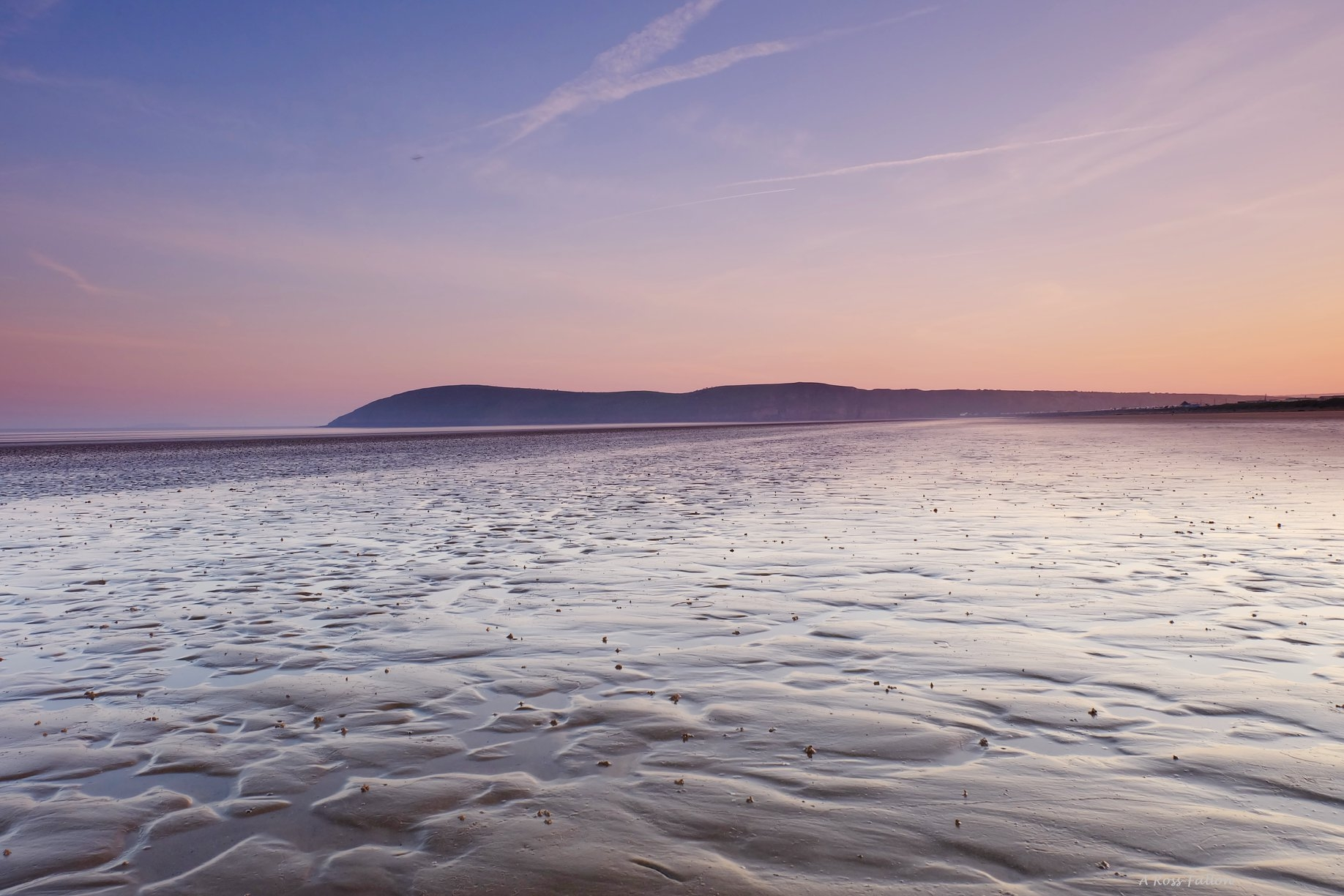 SUNRISE: Somerset Camera Club member Anthony Rossfallon captured this shot of the sunrise on Brean beach