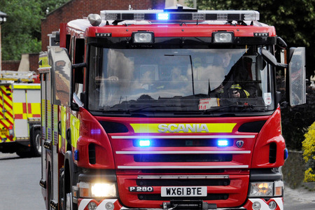 RESPONSE: File image of a fire engine
