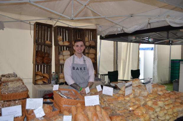 Bridgwater Mercury: FOOD STALLS: Taylors of Bruton serving fresh bread