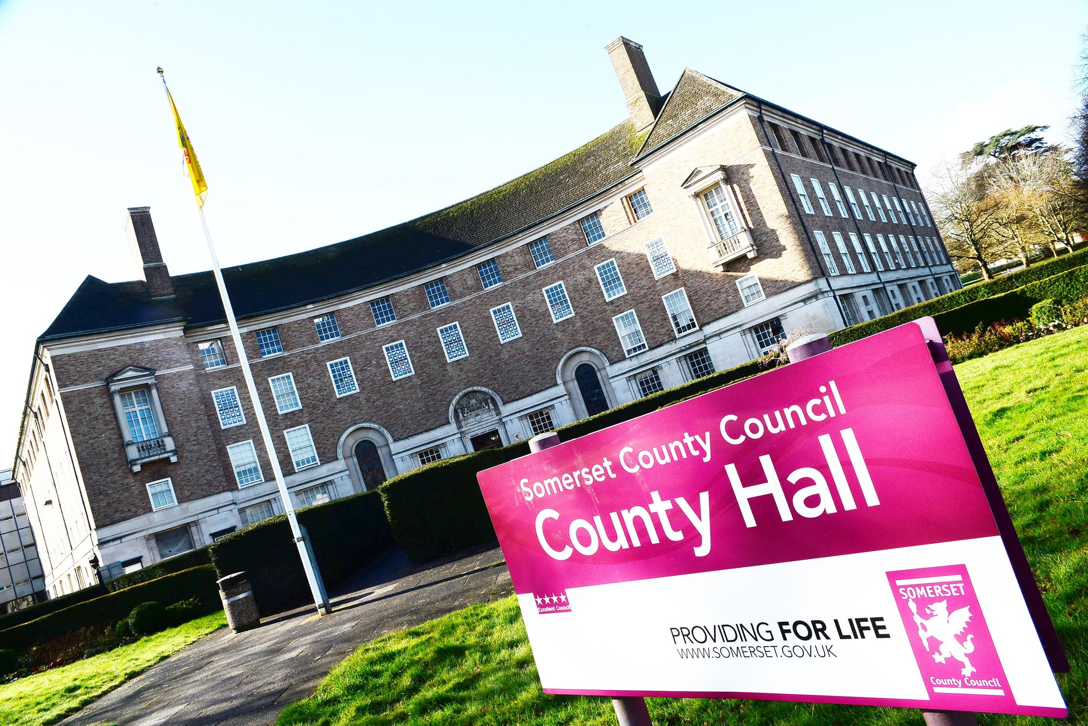CASH-STRAPPED: Somerset County Council