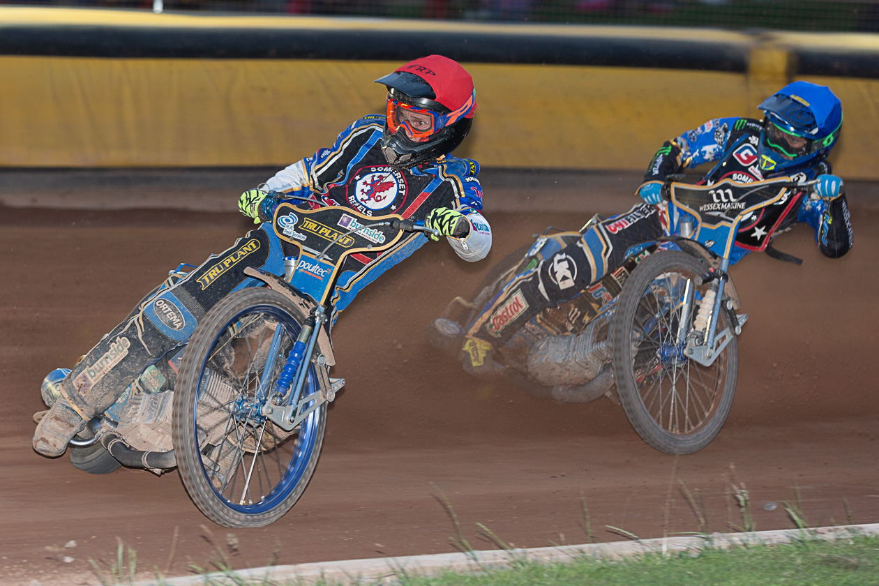 TOP SCORERS: Jason Doyle and Jack Holder continued their fine form for Somerset Rebels. Pic: Colin Burnett