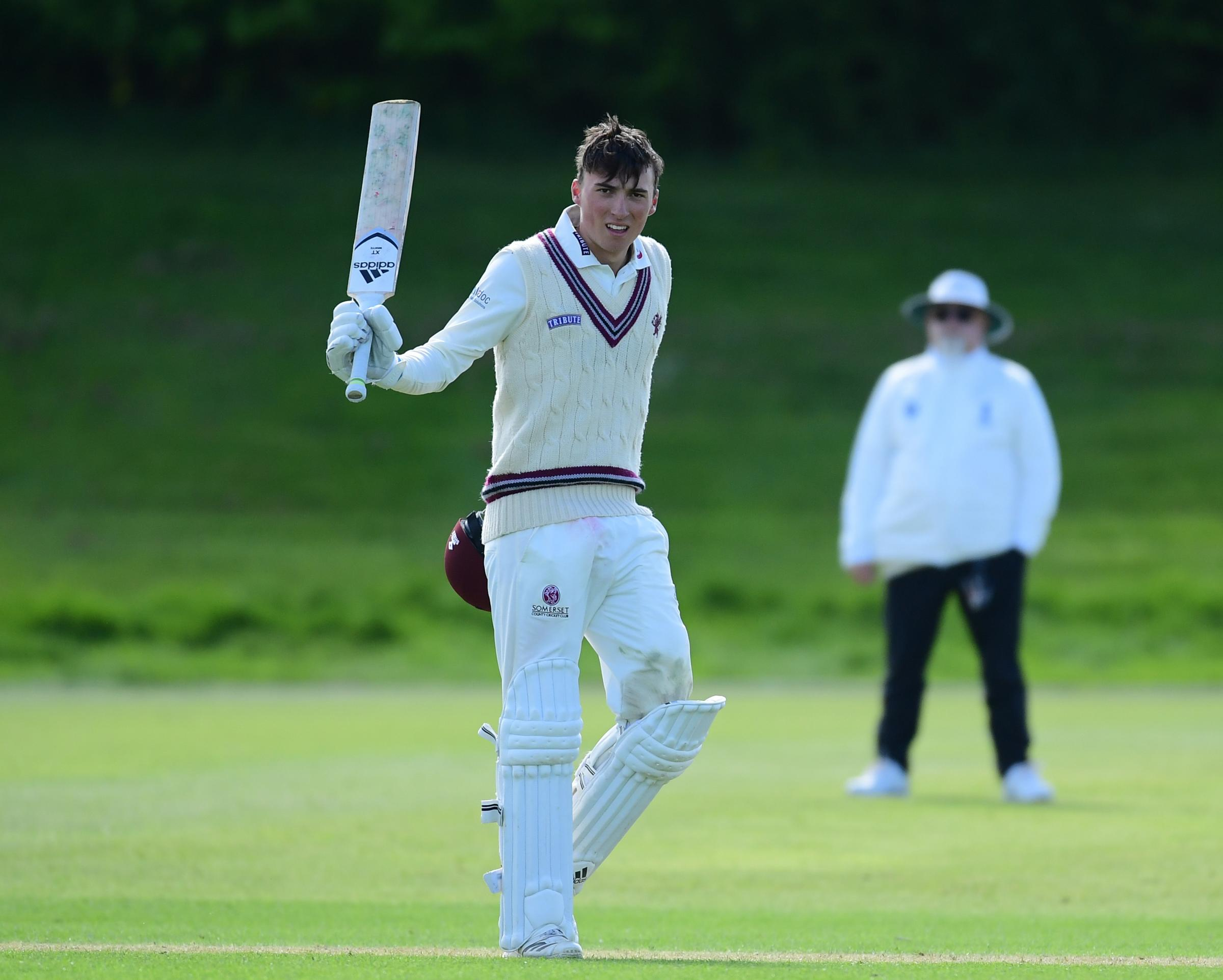 STANDBY: Tom Banton could be in line for a First Class debut when Somerset take on Surrey in Taunton. Pic: Alex Davidson/SCCC