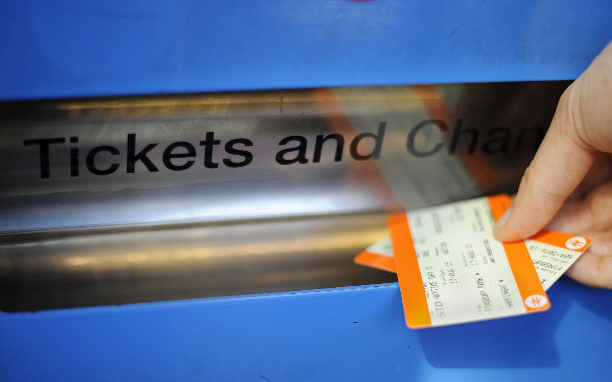 RISING COSTS: Fares are going up again. PICTURE: Lauren Hurley/PA Wire.