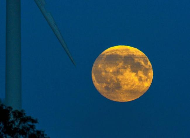 FINGERS CROSSED FOR CLEAR SKIES: The full moon should be visible from around 7.20pm