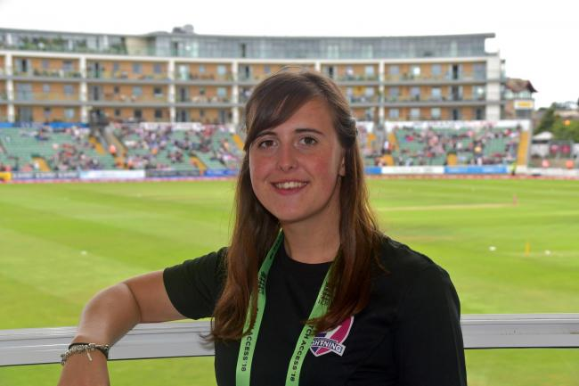 RETURN: Hannah Thompson, who has played cricket for Middlezoy.