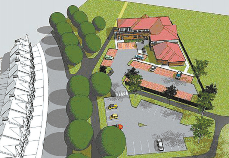 PLANS: For the medical centre, unveiled in 2008