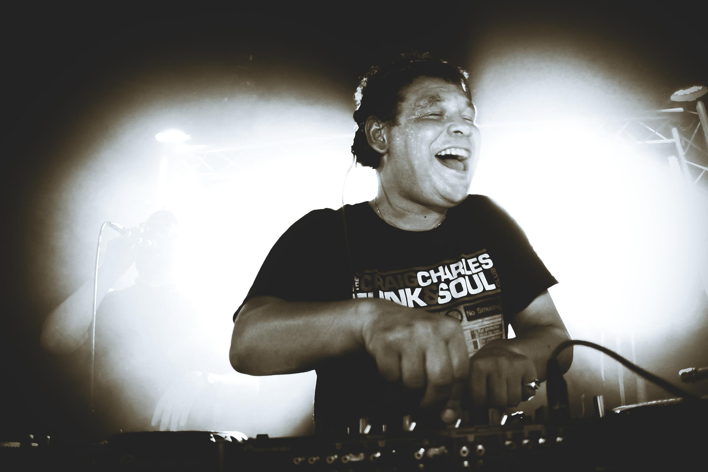 COMING TO BRIDGWATER: Actor and DJ Craig Charles