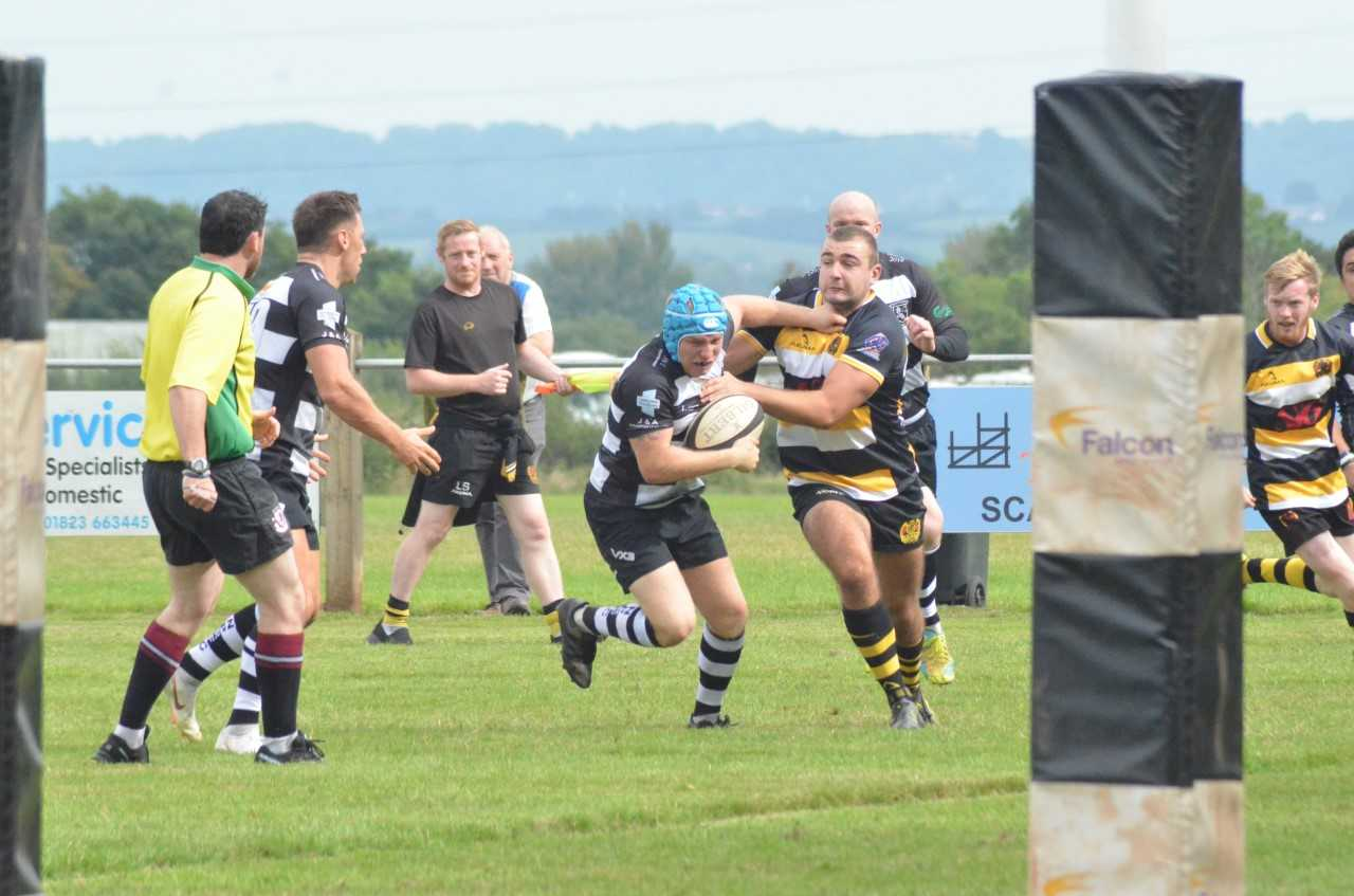 LINE IN SIGHT: North Petherton are gunning for another victory, after success last weekend. Pic: Chris Hancock