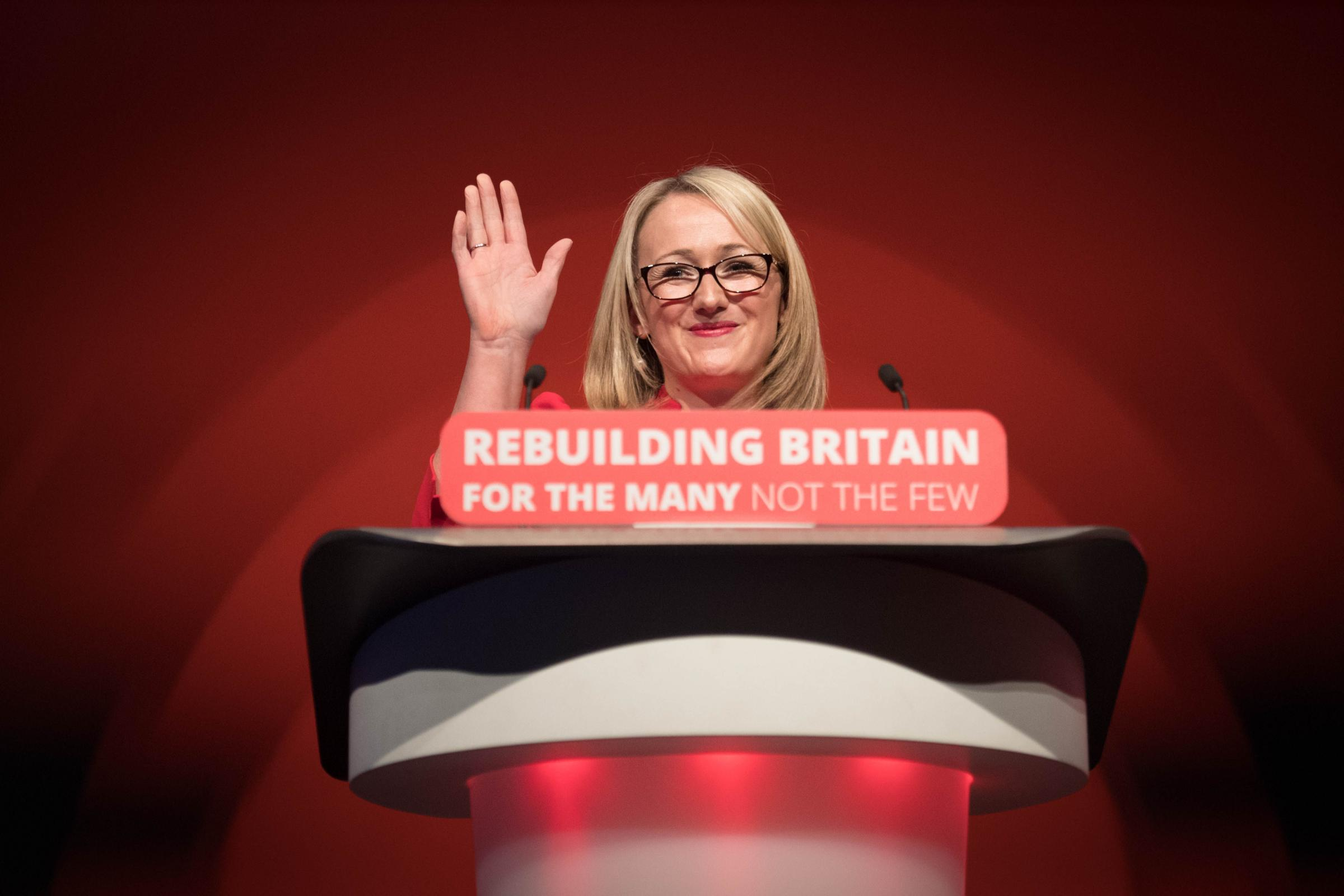 'BLATANT INEQUALITY': Says shadow business, energy and industrial strategy secretary Rebecca Long-Bailey. PICTURE: Stefan Rousseau/PA Wire
