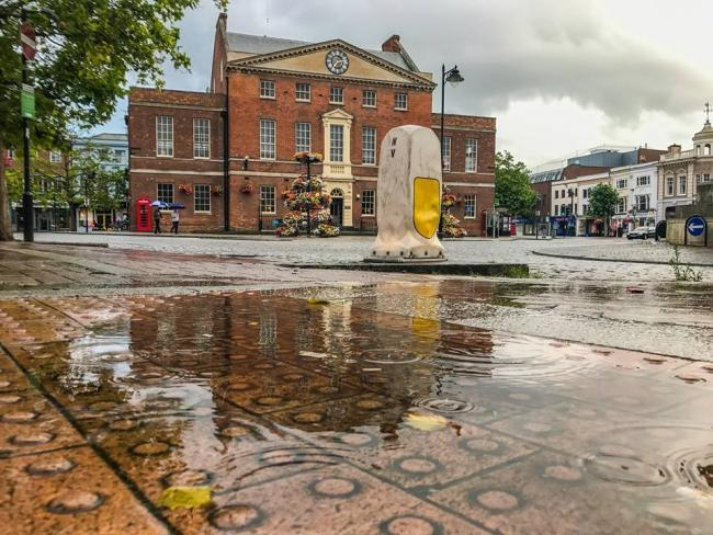 WEATHER: Somerset Camera Club member Kieran Hanlon's rainy Taunton picture
