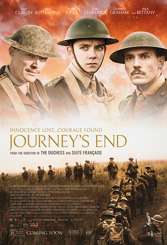 FilmCrew screening of 'Journey's End' (12A, 2017)