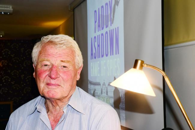 OP 07 Jan 2019 Paddy Ashdown funeral details 020617 13 monks paddy