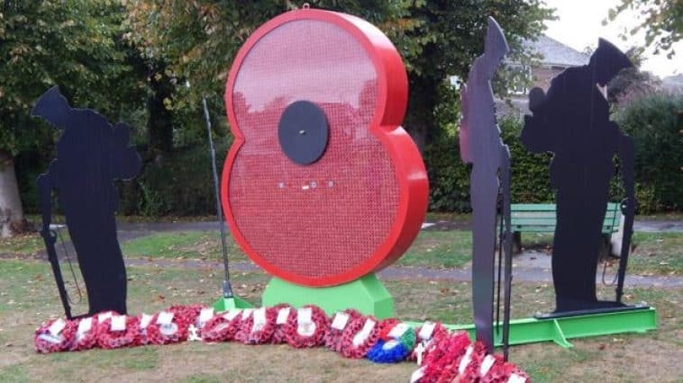 POPPY OF HONOUR: The Wincanton tribute to the fallen