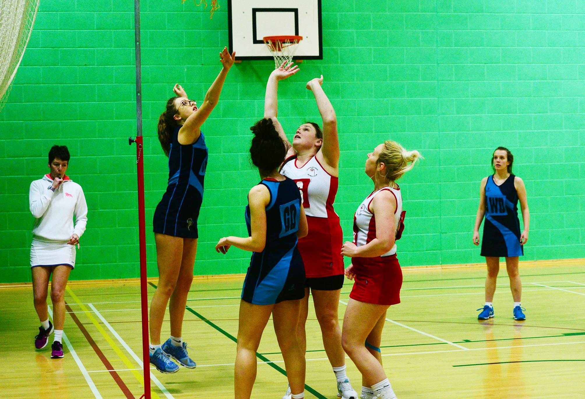 NETBALL: Bridgwater and Sydenham players in action ... - Bridgwater Mercury