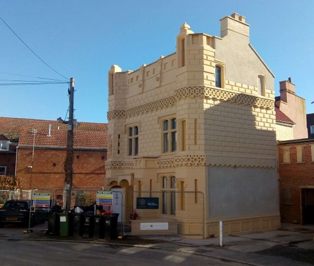 Castle House in Bridgwater after a 20-year rescue battle - Bridgwater Mercury - restored to fame