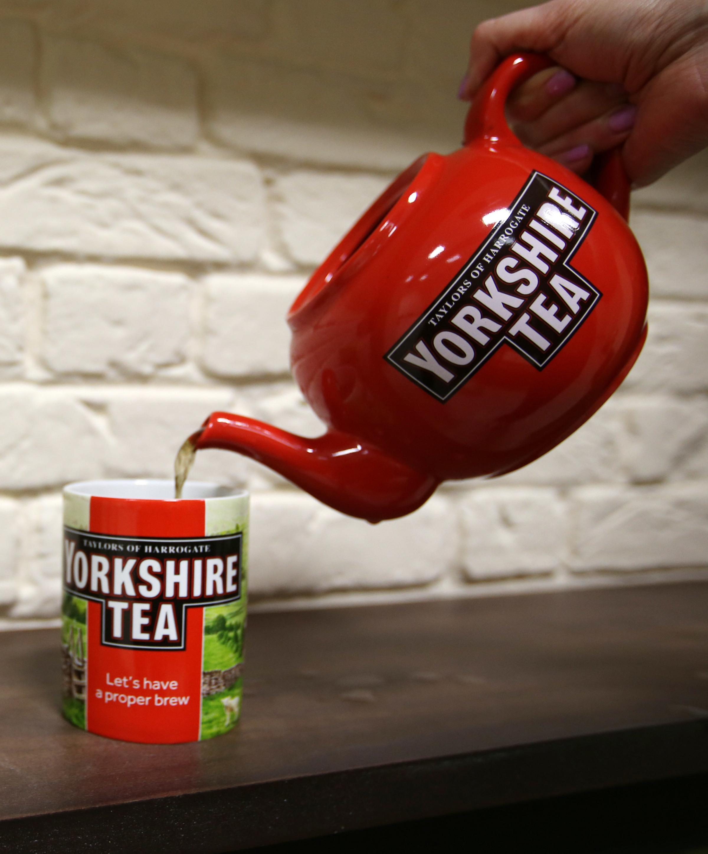 PROBLEMS: Yorkshire Tea. PICTURE: Lynne Cameron/PA Wire