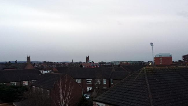 INSTALLED: How the floodlights change the Taunton skyline