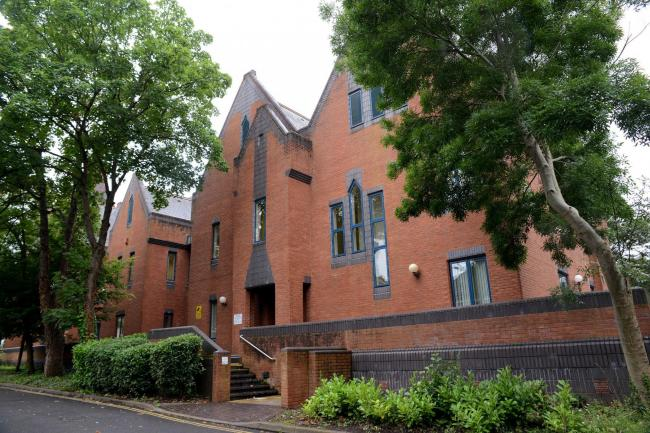 Taunton Magistartes Courts in St John's Road, Taunton