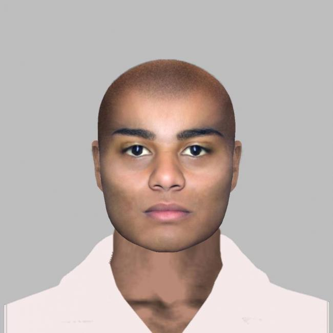 DO YOU KNOW HIM?: Police have released this e-fit of a man they would like to identify