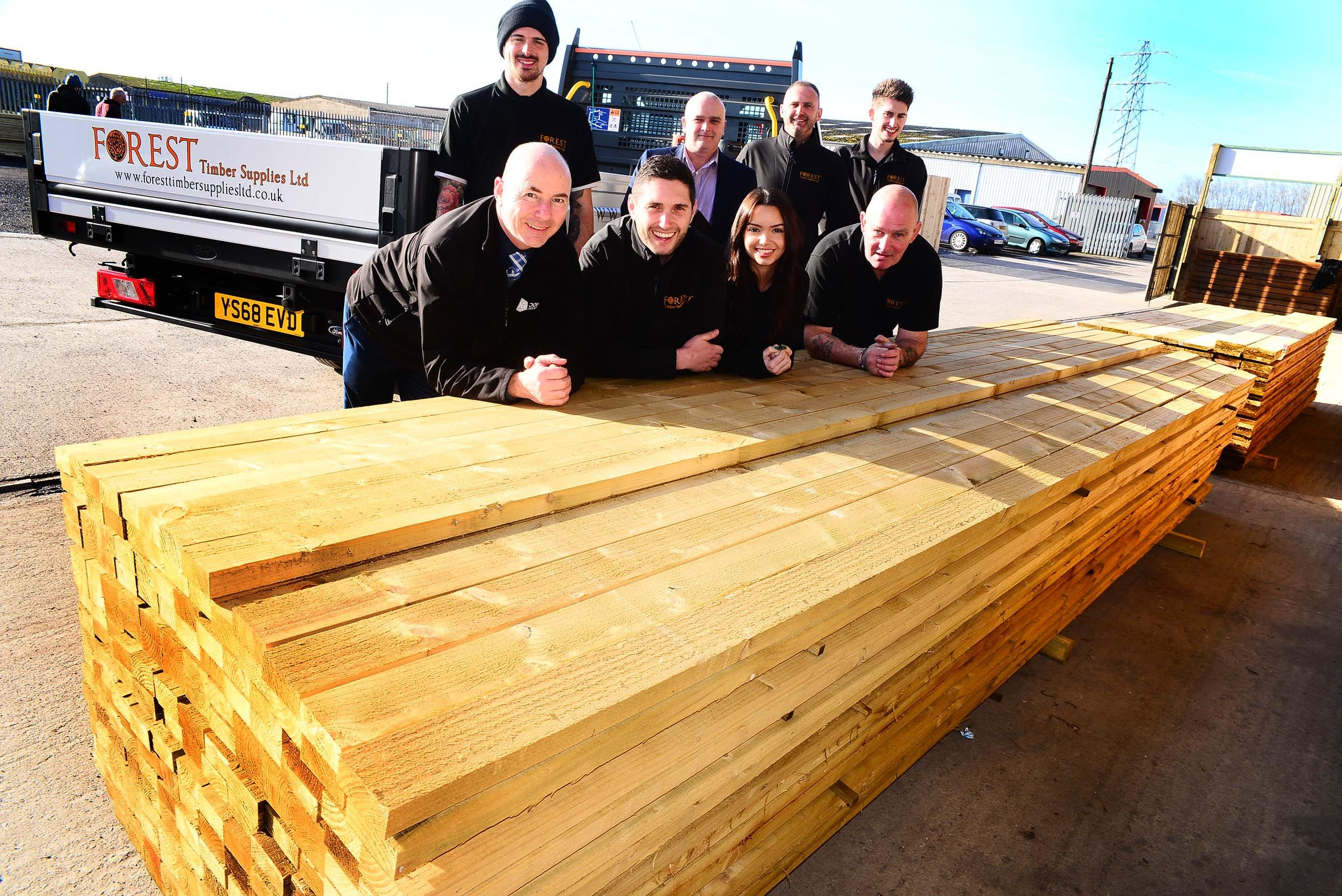 TEAM: Forest Timber Supplies Ltd had its official opening on Monday, February 11